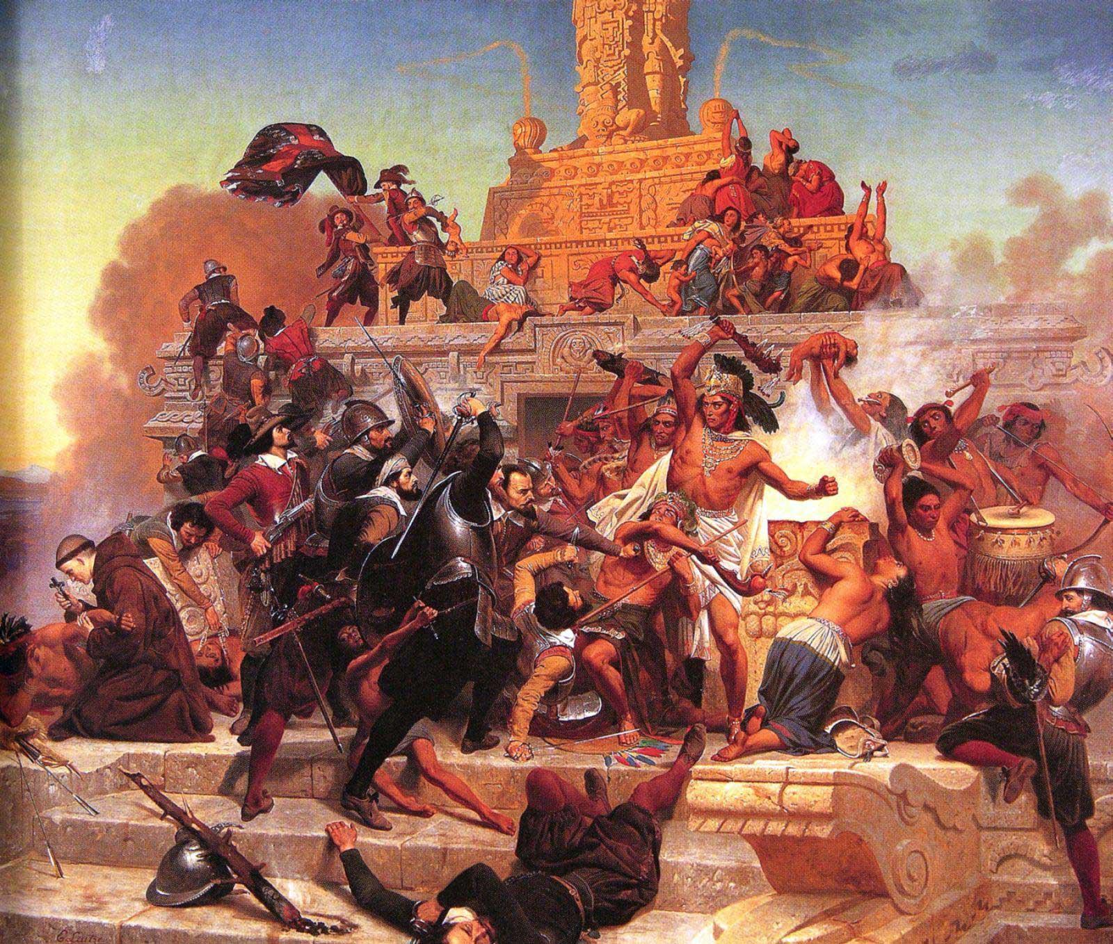 rencontre azteques espagnols