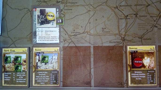 L'Histoire sur un plateau : Warfighter: The WWII Tactical Combat Card Game