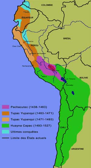 L'empire inca.