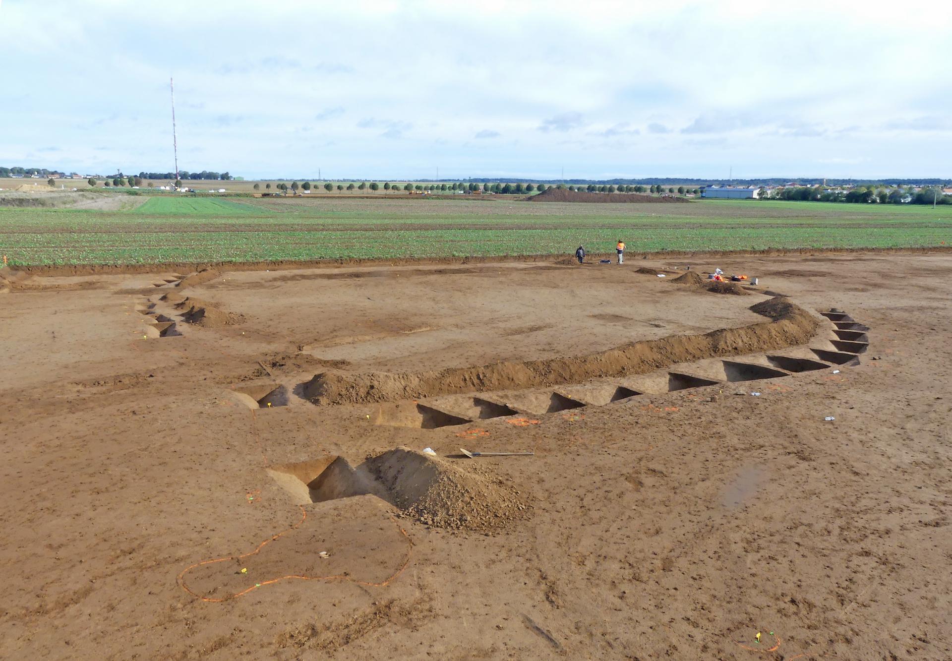 La tombe d'un mystérieux prince normand découverte en Normandie