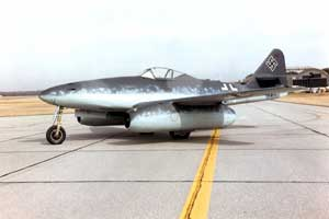 Messerschmitt Me 262A au National Museum of the United States Air Force