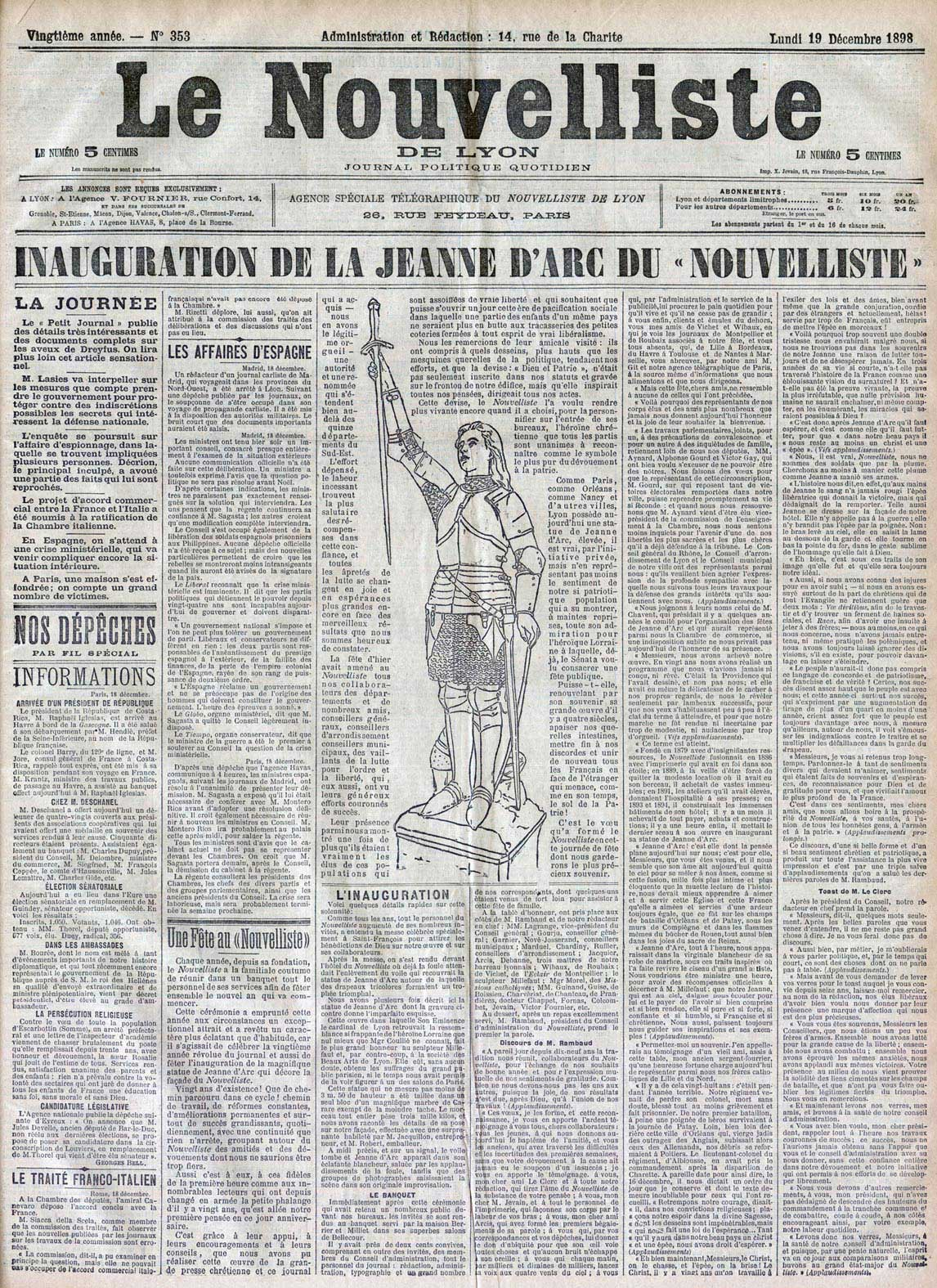 Historiagames histoire les journalistes dans la for Le journal de la