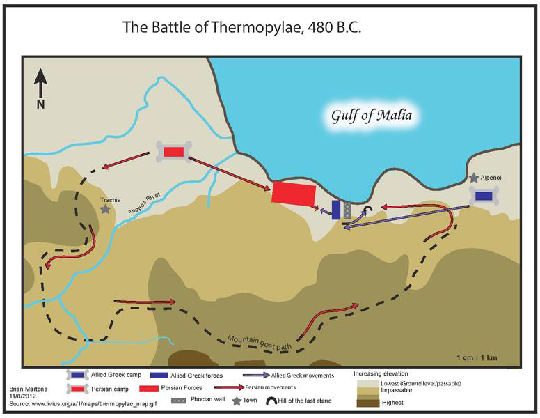 on thermopylea and platea Then, a large greek army came and defeated the weakened persians at the  battle of platea the persian wars were over the greeks victory over persia  meant.