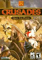 The History Channel: Crusades - Quest For Power jaquette PC