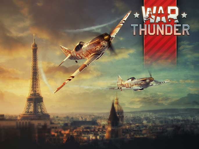 War Thunder : version 1.53 et mise en place des cartes réalistes