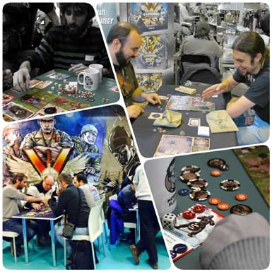 Ludinord, UK Games Expo et Festival international des jeux de Cannes.