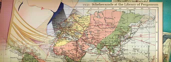 1931 : Scheherazade at the Library of Pergamum dispo sur Steam