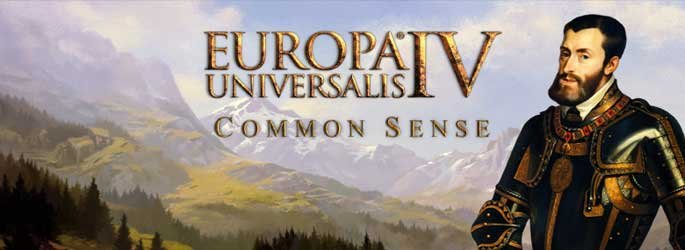 Europa Universalis IV : Common Sense - le Patchnote disponible