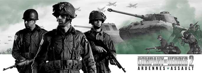 Company of Heroes 2 : Ardennes Assault en vidéo