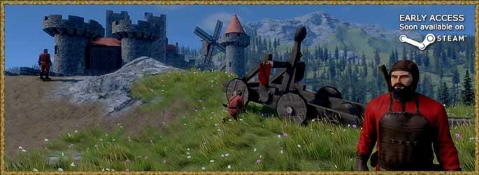 Medieval Engineers en accès anticipé le 19 février