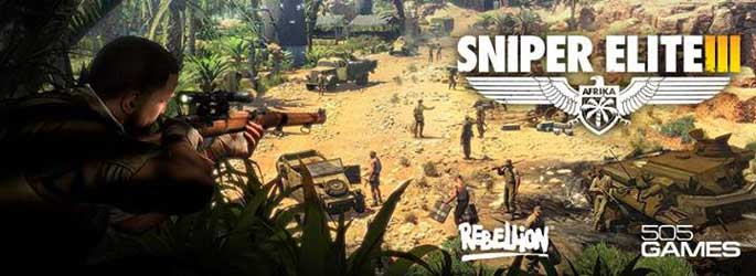 Des images et trois vidéos pour Sniper Elite III