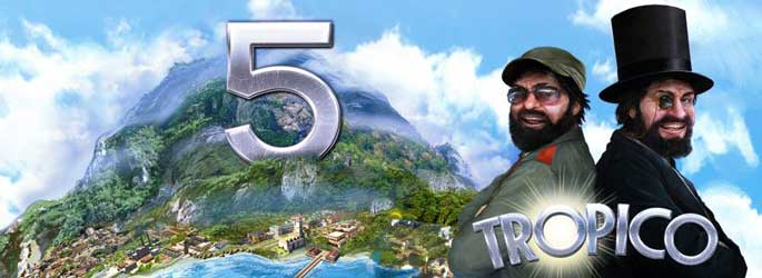 Tropico 5 disponible sur Playstation 4