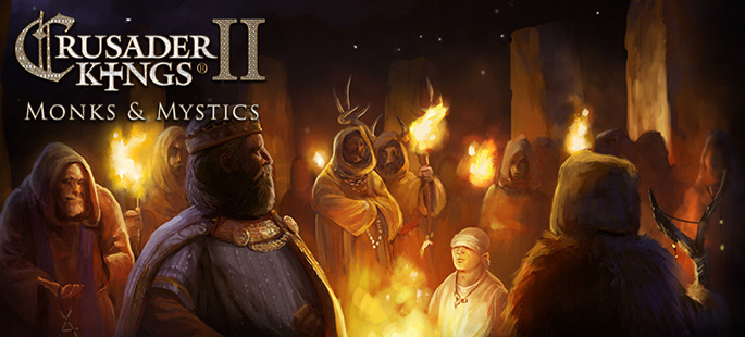 "Crusader Kings II : Patch 2.7 et DLC ""Monks and Mystics"" disponibles"