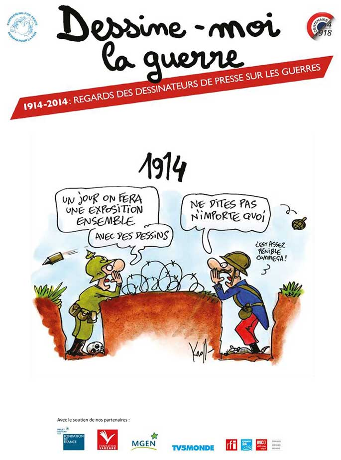 Dessine-moi la guerre par Cartooning for peace