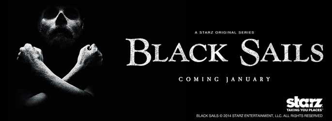 Premier épisode de Black Sails sur Machinima