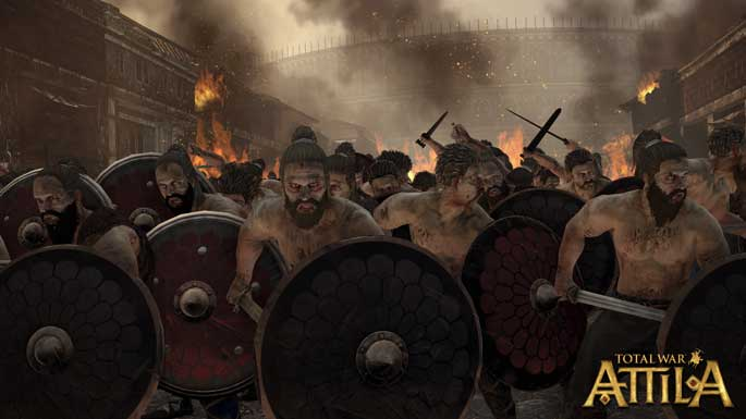 Les Vandales, faction de Total War : Attila