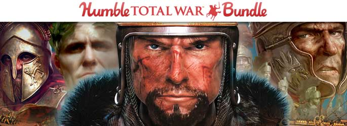 Un bundle Total War sur Humble Bundle