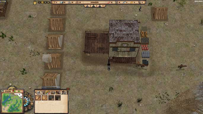 Depraved : Preview du city-builder au Far West