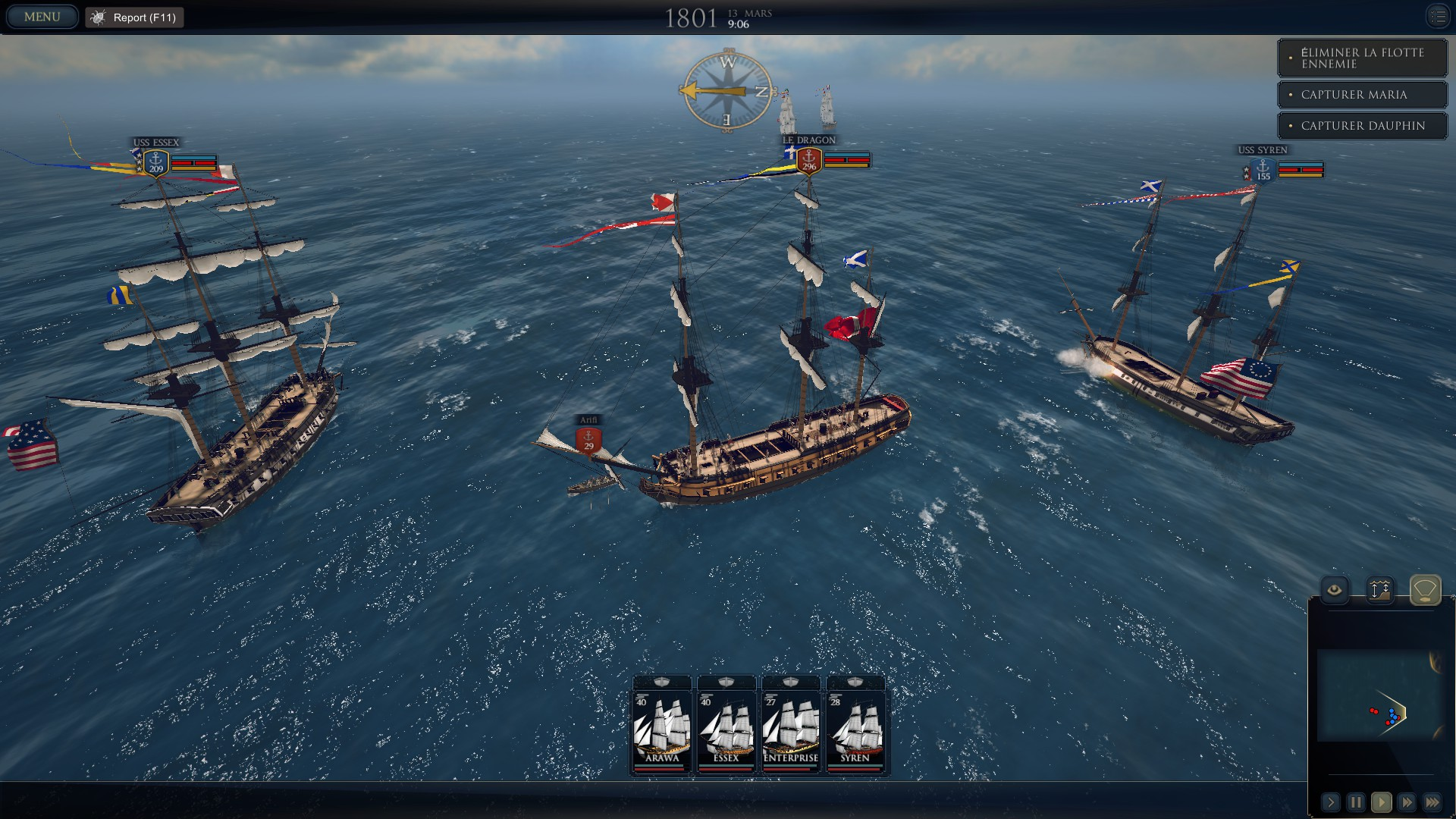 Ultimate Admiral : Age of Sail