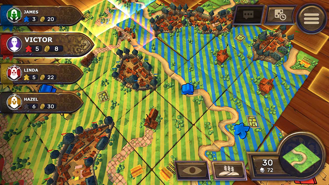 Test de Carcassonne - Tiles & Tactics
