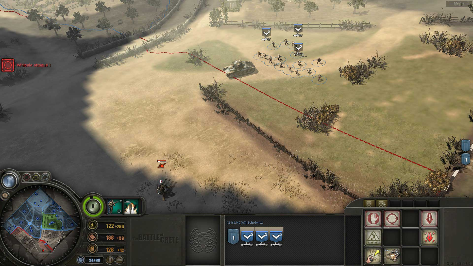 Test de Company of Heroes : Battle of Crete
