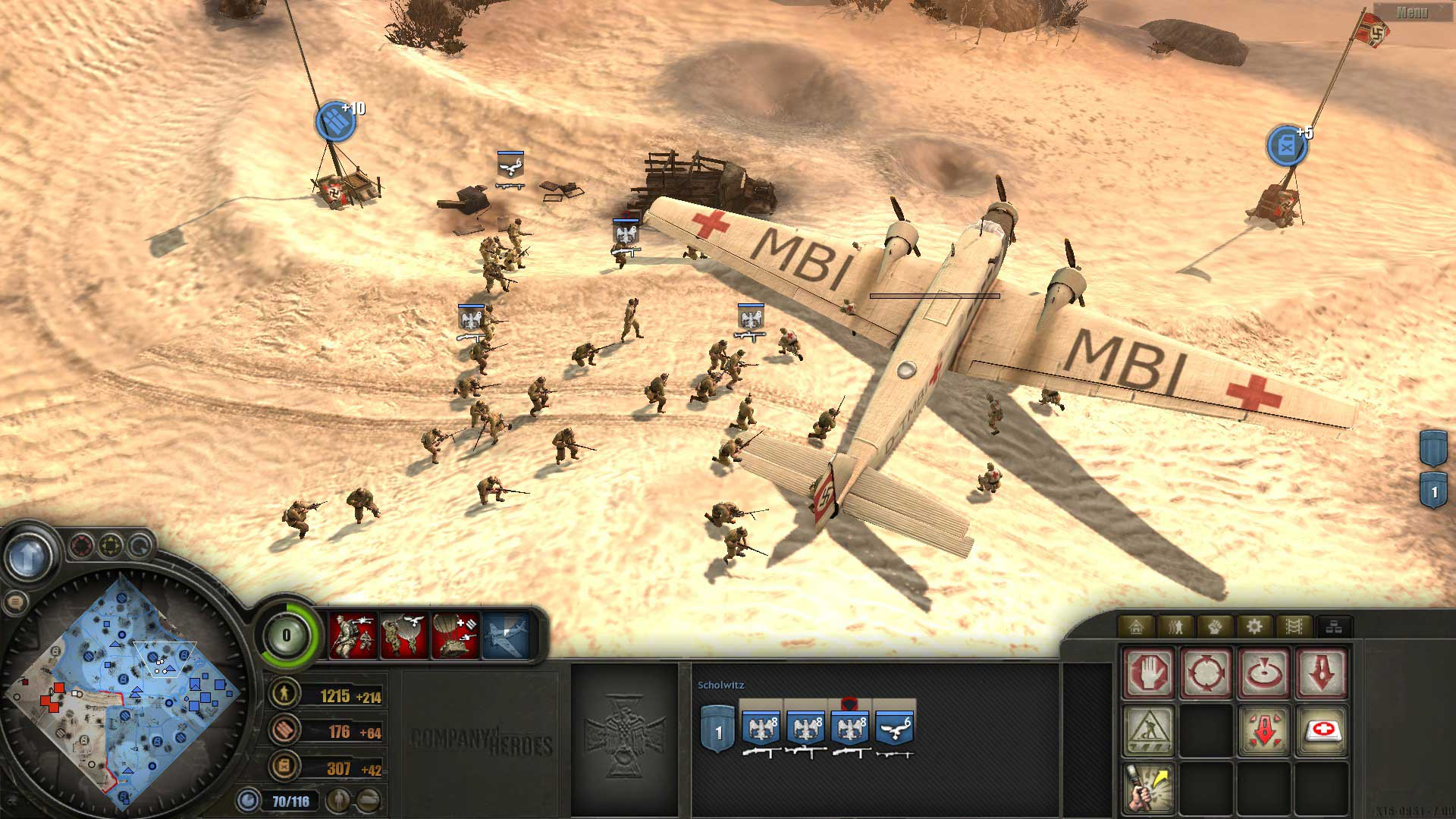 Test de Company of Heroes : Europe at War