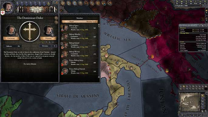 Test de Crusader Kings II : Monks and Mystics