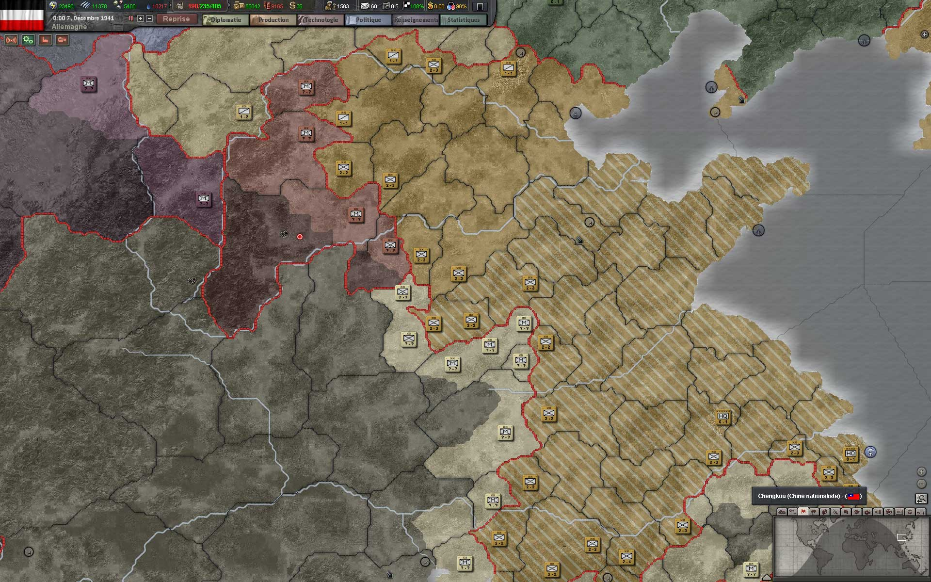Test de Hearts of Iron III par Gungauss
