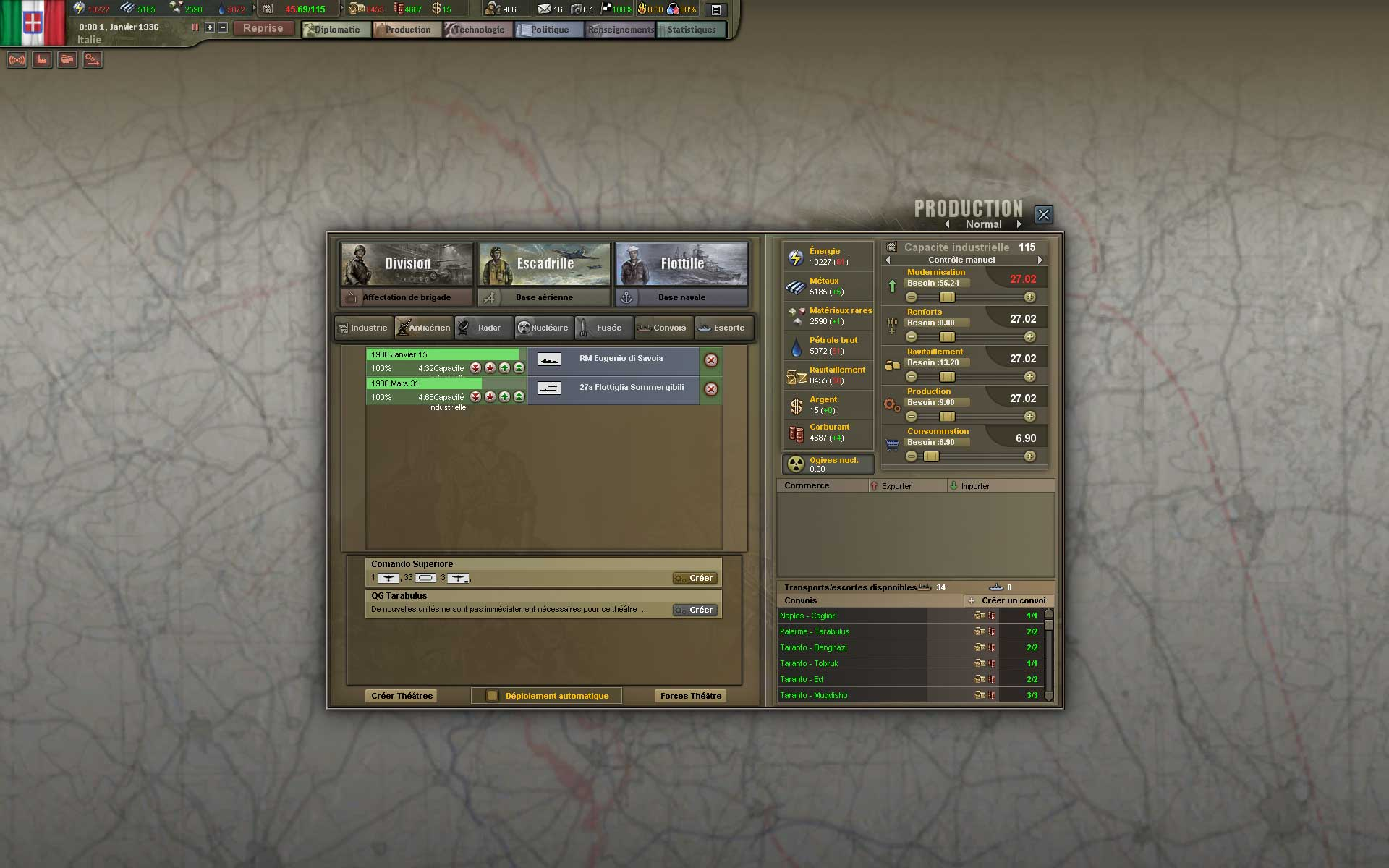 Test de Hearts of Iron III