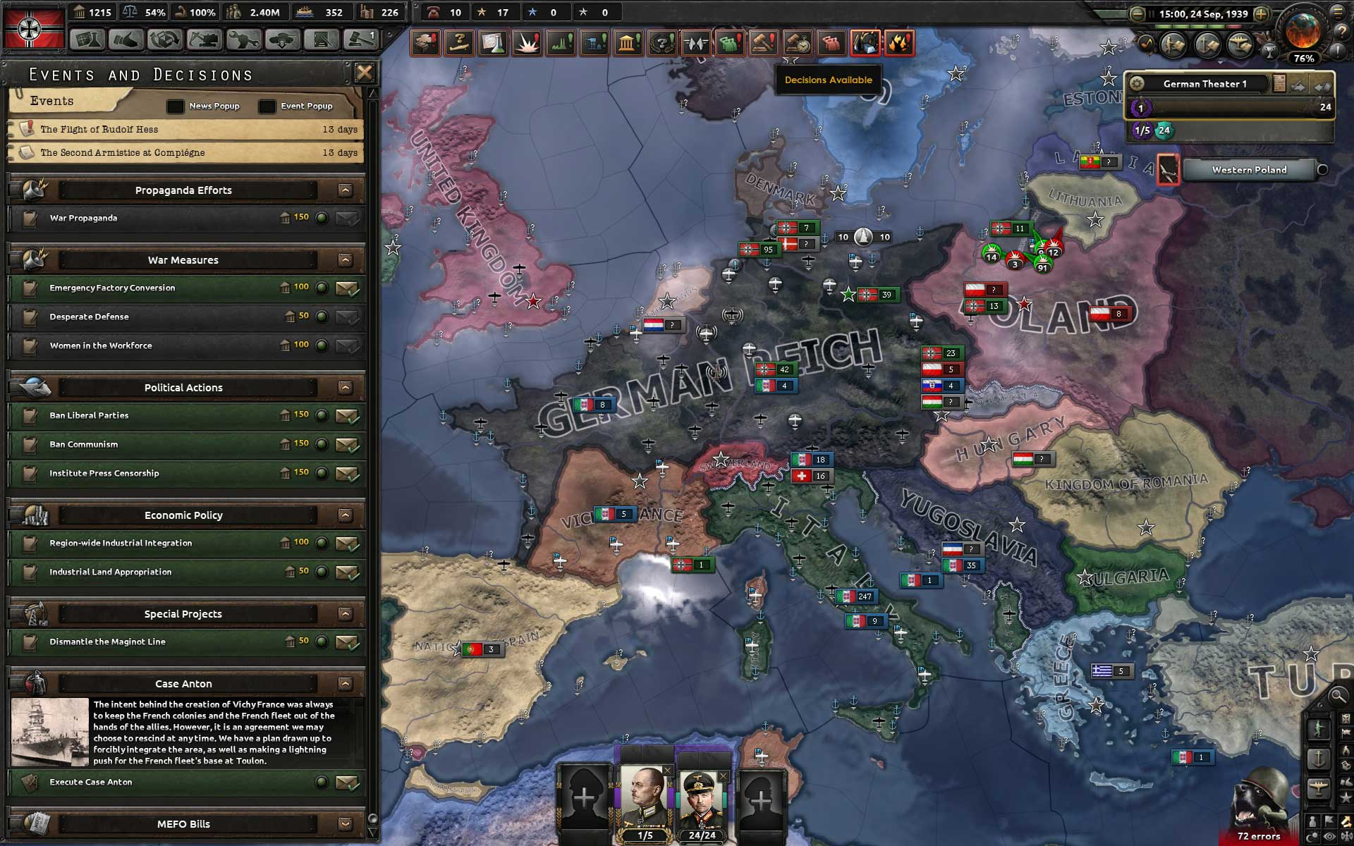 Test de Hearts of Iron IV : Waking the Tiger sur HistoriaGames