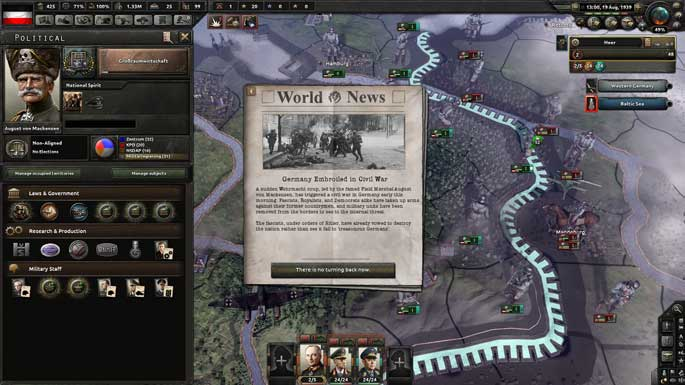 Test de Hearts of Iron IV : Waking the Tiger