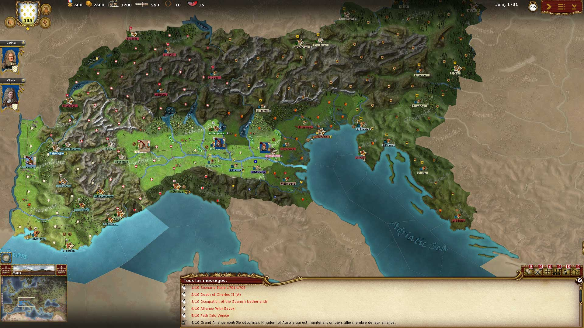 Test de Wars of Succession